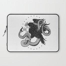 Rooster vs Snake Laptop Sleeve
