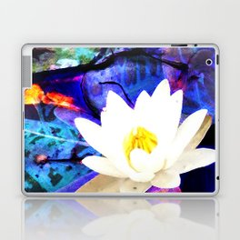 Electrifying Lotus Laptop & iPad Skin