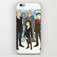 suits iPhone & iPod Skins featuring Suits by FindChaos