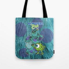 Monsters Ink Tote Bag