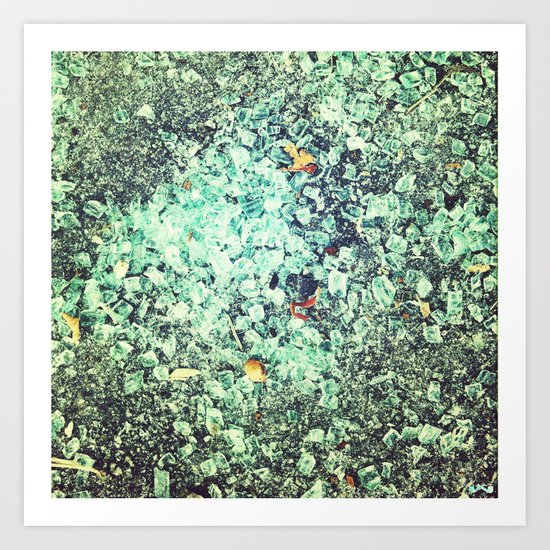 Shards. Art Print