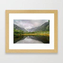 Ambiguous Skies Framed Art Print