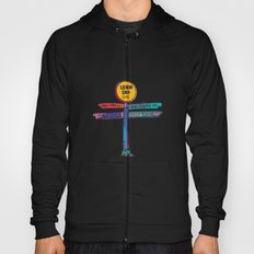 land's end sign Hoody