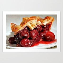 cherrypie Art Print