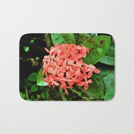 Pretty and Pink Minnesota Flowers Bath Mat
