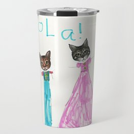 Hola Cats! Travel Mug