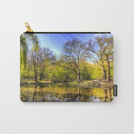 The Tranquil Pond Carry-All Pouch