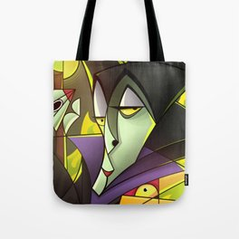 Maleficent - Portrait of a villain Tote Bag