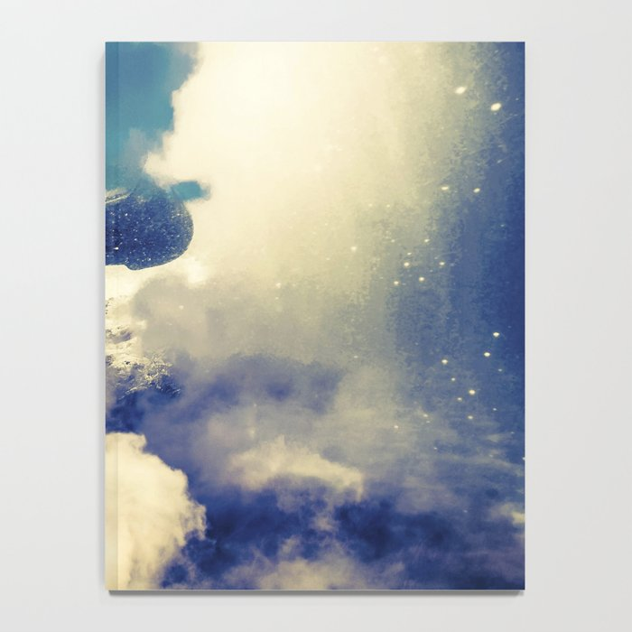 Woman and sky Notebook