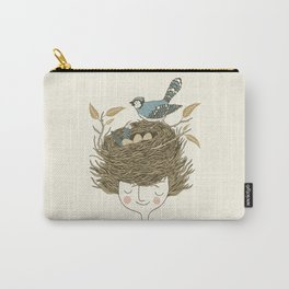 Bird Hair Day Carry-All Pouch