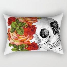 Dia De Los Muertos Sugar Skull Rectangular Pillow