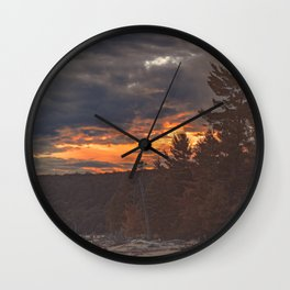 Let's Get Lost Wall Clock