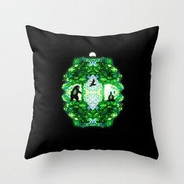 Private Space Throw Pillow