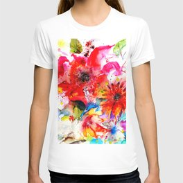 Watercolor garden II T-shirt