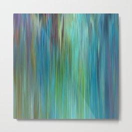 226 - Colour Abstract texture design Metal Print