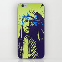native american iPhone & iPod Skins featuring Native American  by Ty McKie Creations