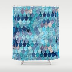 dark teal shower curtain. SUMMER MERMAID DARK TEAL Mermaidscales Shower Curtains  Society6