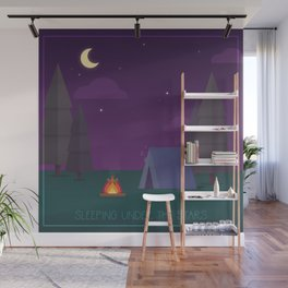 Under the Stars Wall Mural