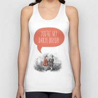 the walking dead Tank Tops featuring Walking Dead Love Story by Zeke Tucker