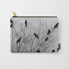 Murder Of Crows - Four Carry-All Pouch