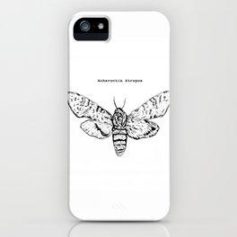 Anherontia Antropos / Hawk Moth iPhone Case