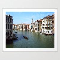 Venetian Summer Art Print