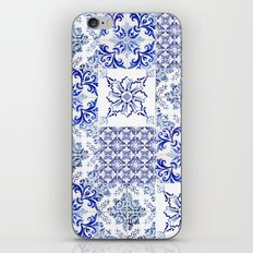 azulejos - Portuguese painted tiles iPhone & iPod Skin