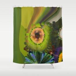 Counterhypothesis Harmony Flowers  ID:16165-102147-41840 Shower Curtain