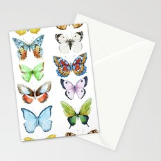 Butterfly Pattern 05 Stationery Cards