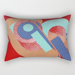 Gerald Laing in Rio Rectangular Pillow