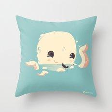 Adorable Octopus Battle Throw Pillow