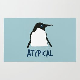 Atypical penguin Rug