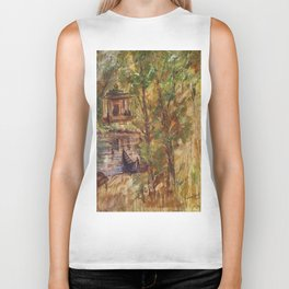 Temple in the Deep Forest in my village Biker Tank