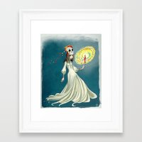 day of the dead Framed Art Prints featuring Day of the Dead by Jessica Fink