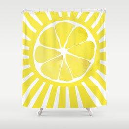 Citrus sun Shower Curtain