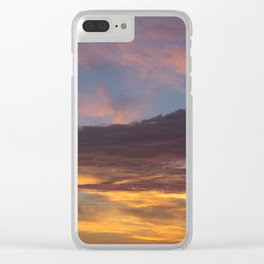 Sky on Fire. Clear iPhone Case