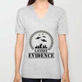 Lates evidence Unisex V-Neck