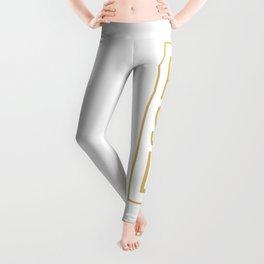 Hustle (Gold) Leggings
