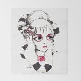 Lydia Deetz Throw Blanket