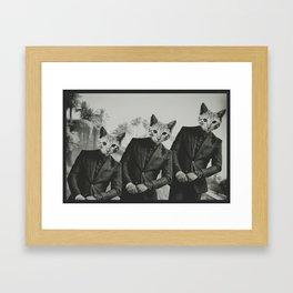 suave3 Framed Art Print