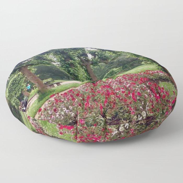 Bruges Garden Floor Pillow