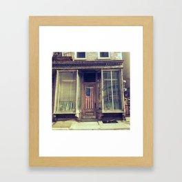 Brookerican Framed Art Print