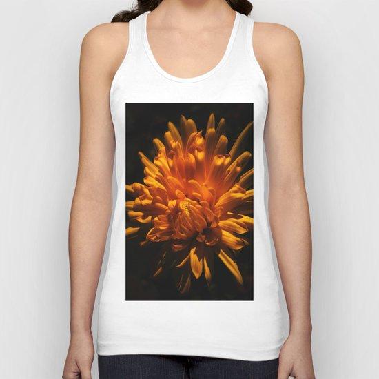 Autumn Flower Unisex Tank Top