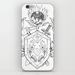 Plant Secrets: Warrior Class iPhone Skin