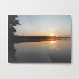 Adirondack Sunrise Metal Print