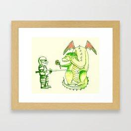 Good v.s. Evil? Framed Art Print