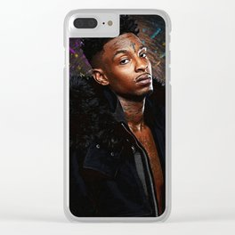 21 Savage Clear iPhone Case