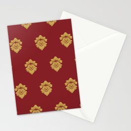 Free Marches (Red) Stationery Cards