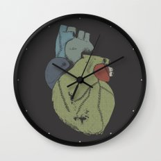 Wounded Heart Wall Clock