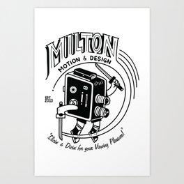 The Milton Connection: Surge Art Print